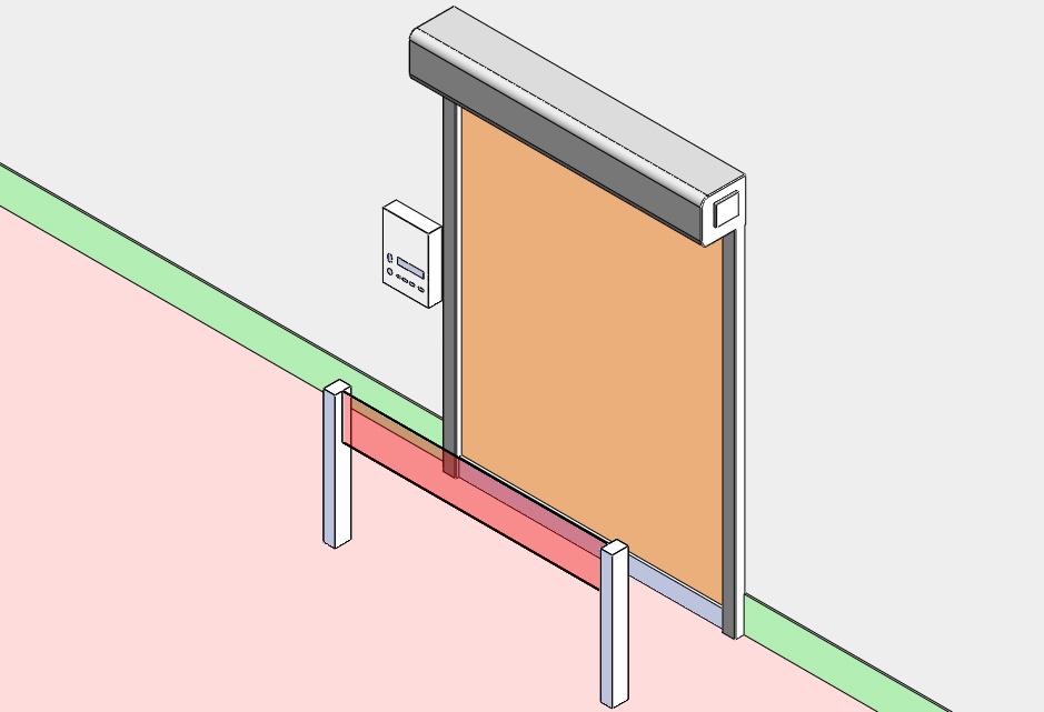 卷机门光电传感器接线法